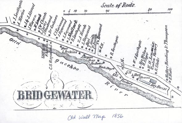 Bridgewater-Village-map
