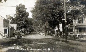 Bridgewater Village Postcard
