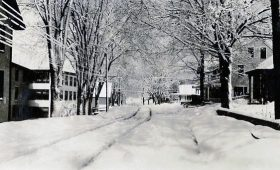 Winter in Bridgewater Village