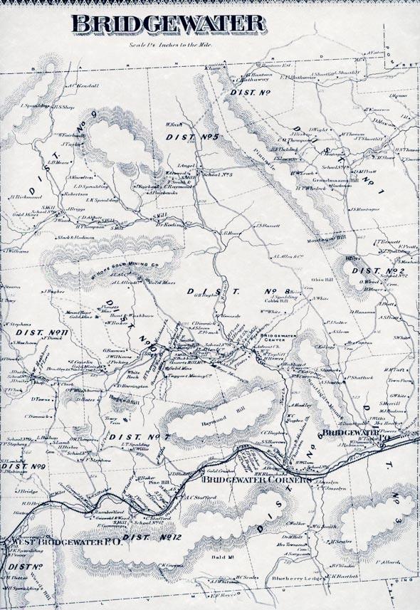 Bridgewater-map