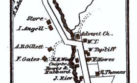 Map of Bridgewater Center
