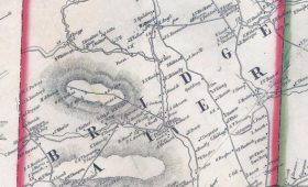 Bridgewater map 1856