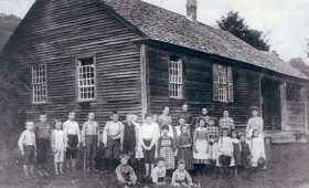 Bridgewater Corners School 1890