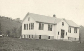 Bridgewater Village School House 1920