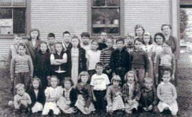 Bridgewater Corners School 1947