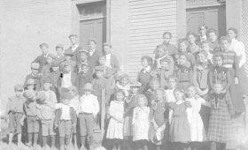 Red Brick School House Pupils