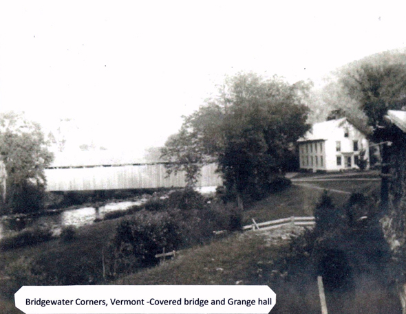 Bridgewater Corners Covered Bridge