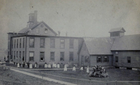 Mill with Employees