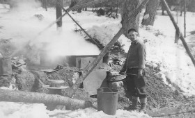Outdoor Sugaring at Dailey Hollow